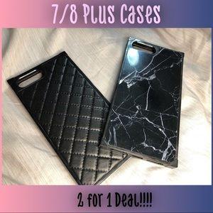 iPhone 7/8 Plus Marble Cases